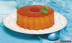 Portuguese Recipes, Flan, Food Inspiration, Cheesecake, Deserts, Food And Drink, Sweets, Fruit, Cooking