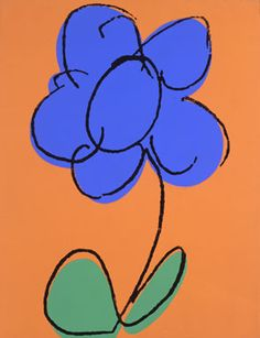 Andy Warhol, Flower, 1986. Acrylic and silkscreen ink on linen, 20 x 16 inches. The Andy Warhol Museum, Pittsburgh; Founding Collection, Contribution The Andy Warhol Foundation for the Visual Arts, Inc.