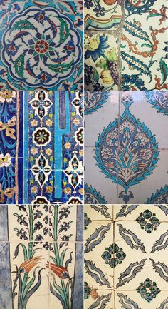 tiles tiles tiles! gorgeous patterns.