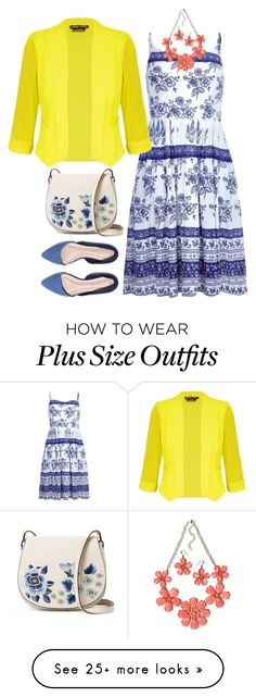 """""""Plus size outfits"""" by jnyaface on Polyvore featuring City Chic, French Connection, Mixit and plus size clothing"""