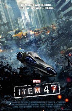 Afiche promocional del cortometraje Item 47, secuela de The Avengers: Los Vengadores (The Avengers, 2012).