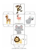Roll and graph the zoo. Includes graph and other printables