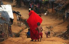 Makeshift camp of Kutapalong. The Rohingya, ethnic and religious minority from Myanmar take refuge in Bangladesh in search of safety and better living conditions, which are not in the country.