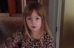 Little Girl Says She Doesn't Care What People Think Then Farts On Camera