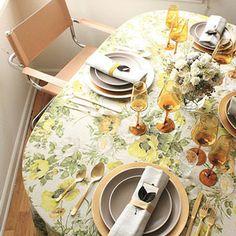 table cloth + scape