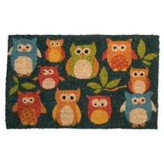 Oliver Owl and Friends Coir Doormat