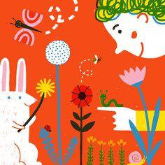 """Empfohlenes @Behance-Projekt: """"Le printemps"""" https://www.behance.net/gallery/38350011/Le-printemps"""