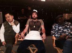 Matthew Moy, Jonathan Kite and Garrett Morris ~ 2 Broke Girls ~ 2014 Fall Premieres