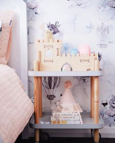 Handmade wooden toy castle designed and made in Australia from sustainably sourced plywood. Perfect for pretend play. Wooden Toy Castle, Handmade Wooden Toys, Pretend Play, Good Day, Nice, Instagram Posts, Room, Sydney, Design