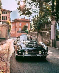 What an incredible weekend at getting to shoot with the ex- Alain Delon Ferrari 250 SWB California Spyder. Bugatti, Lamborghini, Audi, Bmw, Ferrari 250 Gt California, Retro Cars, Vintage Cars, Jaguar E Typ, Classy Cars