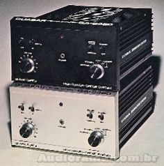 AUDIORAMA - Equipamentos de Audio - QUASAR Amplificador