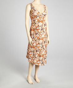 Take a look at this Cherry Blossom Maternity & Nursing Nightgown - Women by Blush Maternity on #zulily today!