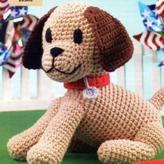 Free Dog Amigurumi Crochet Pattern