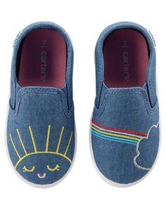 37ec0762028 Baby Girl - Carter s Slip-On Sneakers -  17.00 Toddler Girl Shoes