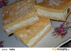 Czech Recipes, Russian Recipes, Gorgeous Cakes, Something Sweet, Nutella, Sweet Tooth, Bakery, Cheesecake, Food And Drink