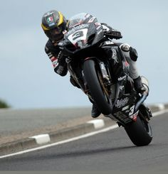 Guy Martin at the Isle of Man TT! Check it out if you don't know if the TT! Amazing.