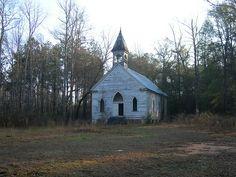 Old Coatopa Church    Coatopa, Alabama