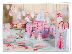 Meri Meri princess party.. Buy it online.