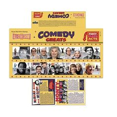 Happy - Comedy Greats Presentation Pack at Royal Mail Shop