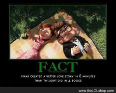 Pixar created a better love story in 8 minutes