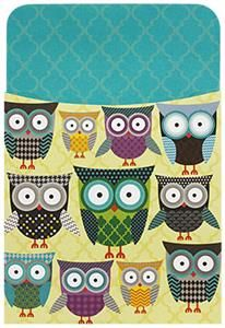 Renewing Minds, Owls Self-Adhesive Book Pockets, x Inches, Turquoise & Yellow, Pack of 25 Owl School, School Ideas, Owl Theme Classroom, Classroom Ideas, School Site, School Stuff, Classroom Helper Chart, Beginning Of The School Year, General Crafts