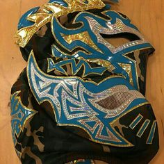 The masks of Sin Cara and Kalisto.