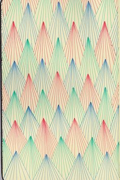 """For more pattern inspiration, follow PatternBase, """"A Chicago-based cyber sketchbook dedicated to inspirational textile design and the study of pattern."""" Another great resource for textile enthusiasts on tumblr!"""