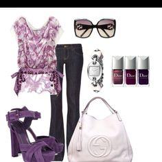 Purple Cute Dress | Cute purple outfit
