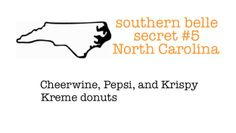 if you had not had cheerwine or krispy Kreme. .. you have not lived.