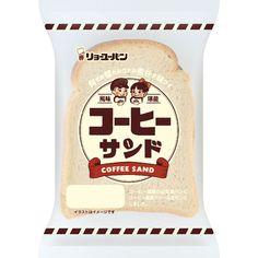 コーヒーサンド   菓子パン   商品紹介   リョーユーパン