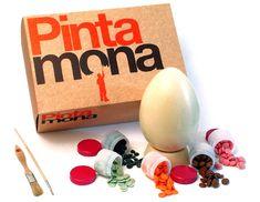 """""""Pinta Mona"""" una divertida propuesta de Xocoa en la que puedes decorar el huevo a tu gusto"""