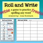 Use this game to practice spelling ANY word or word list.  My students practice spelling sight words and spelling words, but it could be used with ...