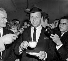Forever Frank Sinatra : Photographed arriving in Sydney, 19th November,...