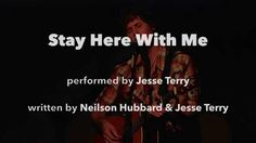 """Stay Here With Me"" by Jesse Terry - As heard on ABC's ""Forever"""