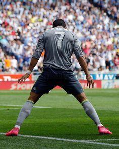 ..._ 7 Cristiano Ronaldo. Real Madrid