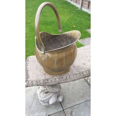 VICTORIAN BRASS COAL SCUTTLE Listing in the Brass,Metalware,Antiques Category on eBid United Kingdom | 143561920