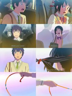 Kimi no na wa Kimi No Na Wa, Otaku Anime, Manga Anime, Watch Your Name, Mitsuha And Taki, Anime Love, Anime Guys, The Garden Of Words, Your Name Anime