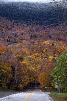Upstate NY and Vermont Fall Trip by Raf Ferreira, via Flickr #travel #vermont #usa