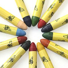 Beeswax crayons!