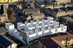 Our top story of the week explores the future of social housing through low-rise, high-density projects, like this Peter Barber-designed Donnybrook Quarter in Read more: link in bio Habitat Collectif, Photo D'architecture, Architecture Foundation, Parthenon, Residential Architecture, Social Housing Architecture, London Architecture, Typology Architecture, Uk Housing