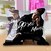 Justin bieber What do you mean Pillow Cases