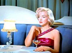 """Marilyn Monroe in """"How to Marry a Millionaire."""""""
