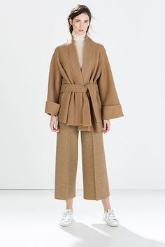 How To Never Look Cheap — No Matter How Little You Spend #refinery29  http://www.refinery29.com/how-to-look-expensive#slide-4  The piece: Jackets The culprit: Skimpy fabric There's a reason hemlines rise during tough economic times: Fabric's not cheap, which is why low-priced manufacturers often skimp on volume and length. (Think about those cheapie pea coats that barely cover your hips.) So, if you find a moderately priced wrap jacket, duster, or cocoon coat, jump on it — it's that surfeit…
