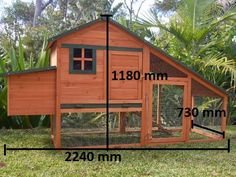 My new chook pen should be here next week.