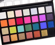 Sneak Peek: Sephora Editorial PRO Eyeshadow Palette Photos & Swatches