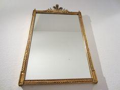 Baroque Rococo Style Gold Leaf Wall Mirror