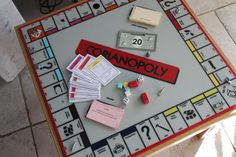 Corianopoly - Corian Board Game, made by Counter Production for a very special customer!
