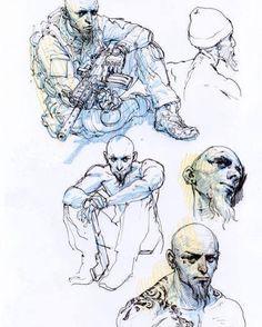 Spy Games, roughs. Comics at @GlenatBD / @GlenatComics Script by @JDMorvan book…
