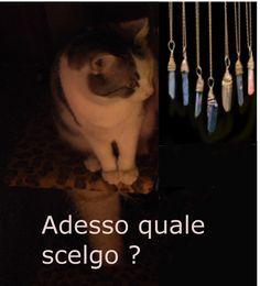 Bellissime catene con pietre vere. https://www.facebook.com/legemmedihemet/