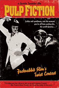 John Travolta Dance Pulp Fiction | PULP FICTION (1994)di Quentin Tarantino